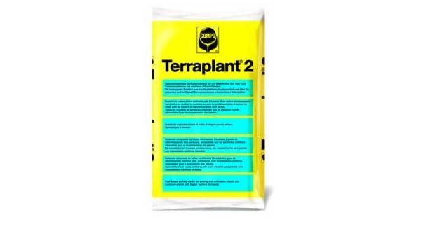 TERRAPLANT 2 - Substrato para uso en agricultura, jardinería y viverismo 40 L: Amazon.es: Jardín
