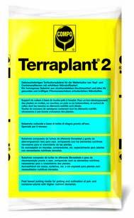 TERRAPLANT 2 - Substrato para uso en agricultura, jardinería y viverismo 40 L