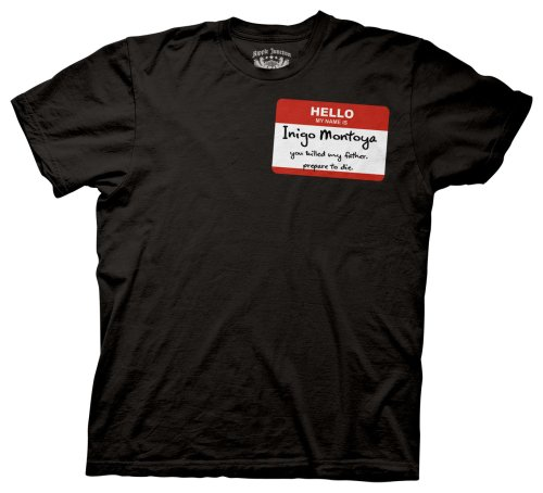 Princess Bride Hello My Name Is Inigo Montoya T-Shirt