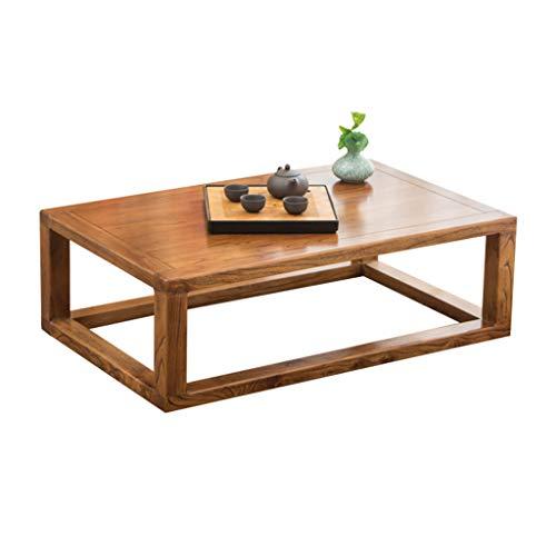 Amazon.com: Mesa de café Tatami madera maciza Bay ventana ...