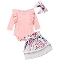Mornbaby Summer Baby Girls Romper+Sequins Shorts Set Daddy's Princess 3pcs Outfit Clothes