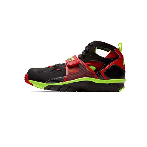 Nike Mens Air Trainer Huarache Training Shoes Black/University Red/Volt 679083-020 Size 10.5 (Nike Mens Air Trainer Huarache)