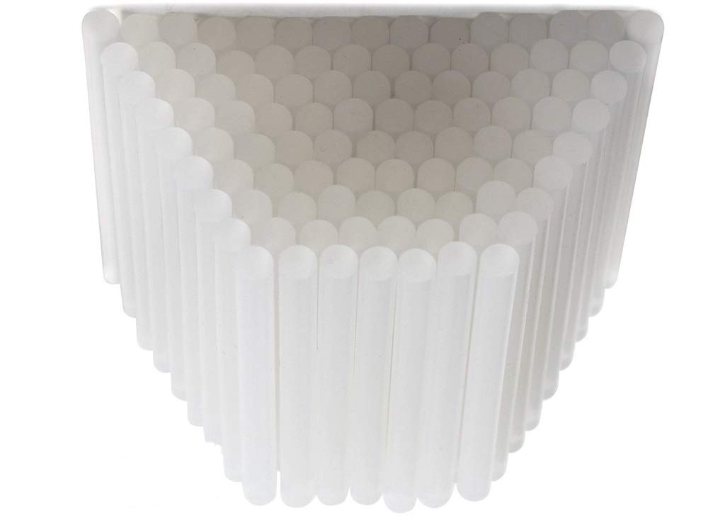 Good Concept 200X Clear White Thick Transparent Hot Melt Glue Sticks 7x10MM Adhesive for to High Power Gun
