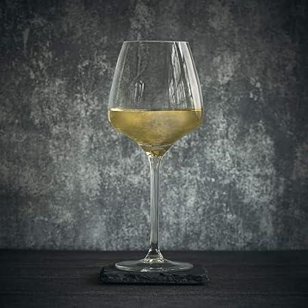 Mosako - Copa de vino, 29 cl/290 ml, 6 unidades, diseño exquisito, apto para lavavajillas para el hogar, restaurantes y fiestas, fácil limpieza (Weisswein (embarazo)