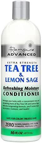 Renpure Advanced Tea Tree & Lemon Sage Conditioner, 16 Ounces