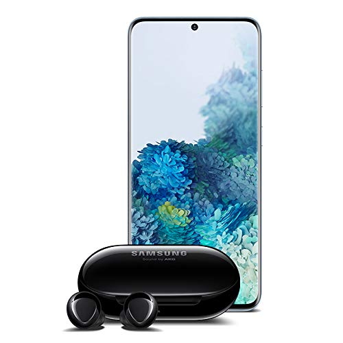 Samsung Galaxy S20+ Plus 5G Factory Unlocked New Android Cell Phone US Version | 128GB w/Galaxy Buds+ Plus