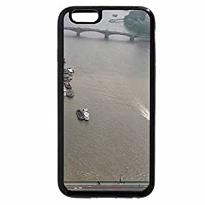 iPhone 6S / iPhone 6 Case (Black) View from London Eye on the river