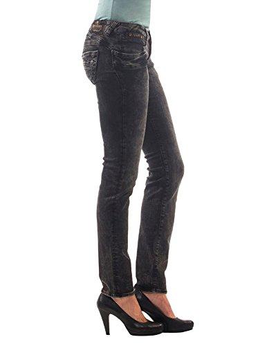 Avorio Elasticizzato Black Piper Donna Denim Jeans 673 Db945 Slim 5650 Herrlicher 7v0n1zCwxq