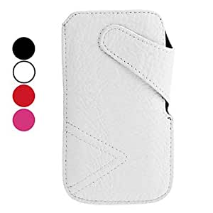 Litchi Grain PU Leather Case for iPhone 5/5S (Assorted Colors) , Black