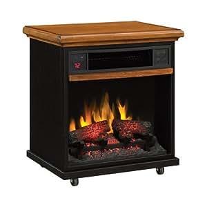 1500 Watt Portable Infrared Quartz Fireplace