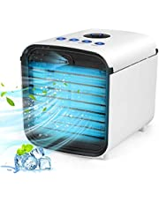 Portable Air Conditioner, 3 Kinds of Wind Intensity Personal Air Cooler, Mini Fan Air Cooler Suitable For Home, Office, Quiet