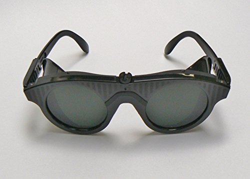 fb0b15b8df8 SAFETY GLASSES PROTECTIVE GLASSES SHADE 10 GOGGLES FOR MELTING   SOLDERING  (E 5)