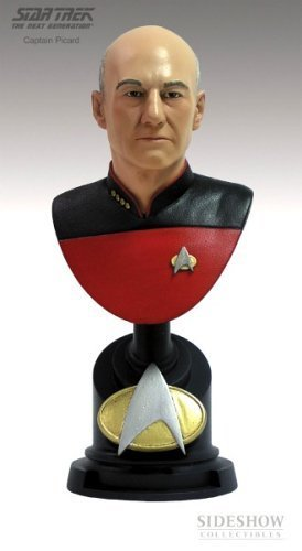 Captain Picard Limited Edition Bust from Star Trek the Next Generation by Sideshow