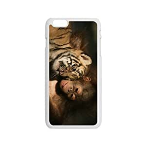 Monkey And Tiger Hight Quality Plastic Case for Iphone 6