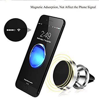 Black Fits iPhone Xs Max Pelotek: Magnetic Phone Car Mount X XS XR XS Max X 8//8 Plus 7//7 Plus 6 Samsung S9 S9 Plus LG Sony Nokia and More Extra Strong and Durable Cell Phone Holder for Car