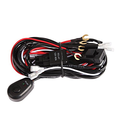 Auxbeam Wiring Harness Off road driving