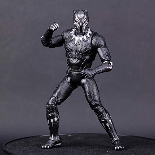 76e65fb30d9ae Actionfiguren-Spie... CCJW Schwarzer Panther Spielzeug Statue Rächer  Spielzeug Modell PVC Geschenkbox Crafts 18cm