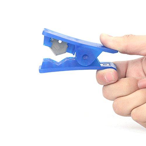ONEVER Soft tubo de goma de silicona de PVC PU de nylon manguera de pl/¨stico CORTATUBOS cortar hasta Tijeras