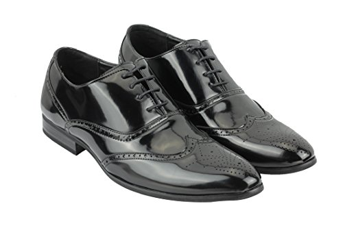 Xposed - Zapatos de Vestir hombre negro