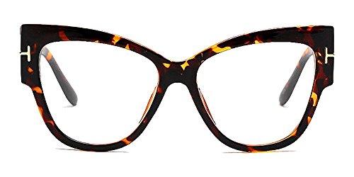 Women's Personality Cat's Eye Sunglasses,Big Frame Street Tide - Cat Glasses Big Eye