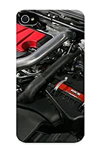 Freshmilk Case Cover For Iphone 4/4s - Retailer Packaging Mitsubishi Lancer Evolution X Engine Protective Case