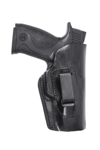 Front Line Inside The Waistband Leather Holster (Black) from Front Line
