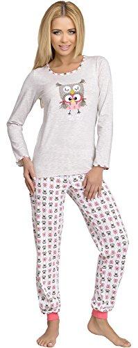 Merry Style Pijama para Mujer 980 Beige
