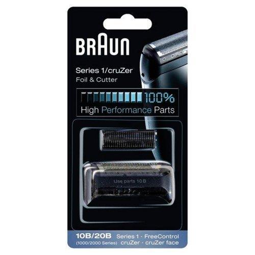 Braun Replacement Foil & Cutter - 10B, Series 1,FreeControl - 1000 Series