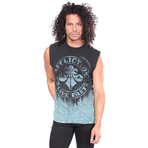 shirts Affliction Hommes Divio Tarnished T 6qWgYOX