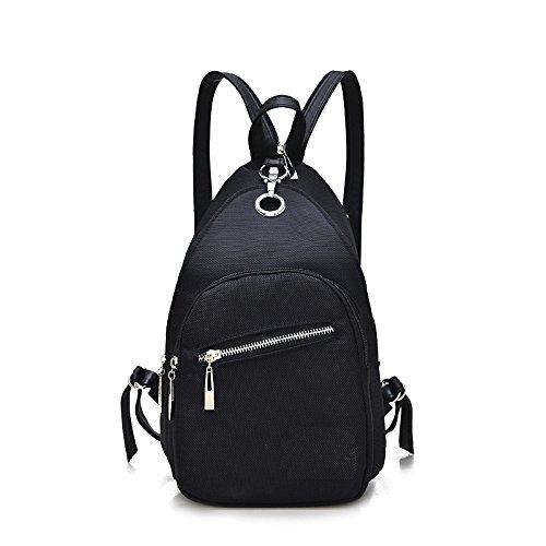 Mefly Nouvelles Femmes Sac À Dos Imperméable Noir Oxford School Bag Sacs À Dos Mode Féminine Bon Marché,Black Sac À Dos De Voyage