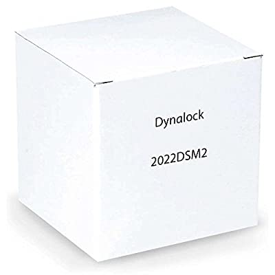 DynaLock 2022 DSM2 Double Electromagnetic Lock, Outswing, Door Status Switch, 1200 lb.