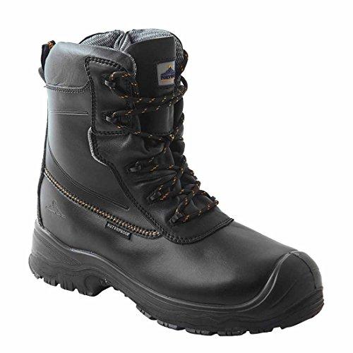 PORTWEST FD02 CompositeLite�?Traction 7 inch (18cm) Safety Boot S3 HRO CI WR Black FD02BK-R40