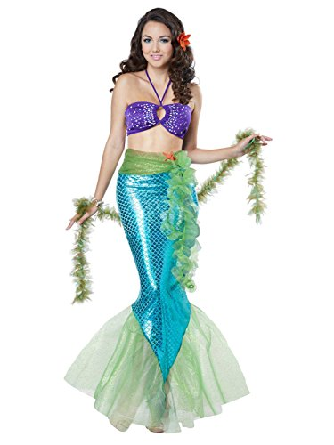 - California Costumes Women's Mythic Mermaid, Multi, Medium