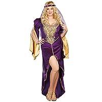 Disfraz de reina de tronos - Talla grande 1X /2X - Talla del vestido 16-18