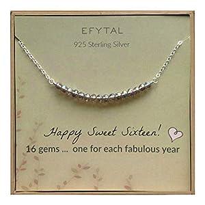 EFYTAL Sweet 16 Necklace