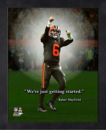 Baker Mayfield Cleveland Browns ProQuotes Photo (Size: 9