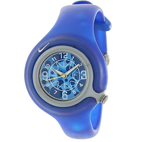NIKE WK0003-406 - Reloj Nike KIDS SPORTWARE Reloj Analógico para Niño/a - Caucho color Azul: Amazon.es: Relojes