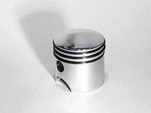 CPW (tm) gear shift knob piston style chrome cast for Kenworth Peterbilt - Piston Knob Shift