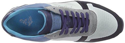 Cycleur de luxe Dallas Sneakers da Uomo Blau (Jeans Blue + Off White + Navy + Light Grey)