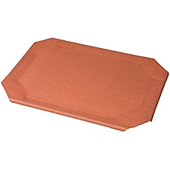 Coolaroo Elevated Pet Bed Replacement Cover Large Terracotta