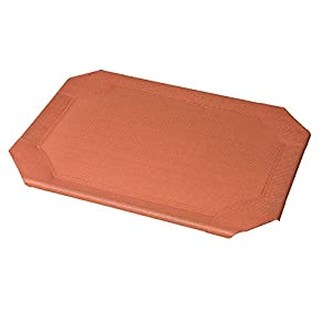 Coolaroo Replacement Cover, The Original Elevated Pet Bed by Coolaroo, Large, Terracotta
