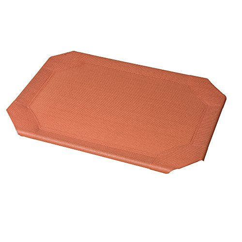 Coolaroo Replacement Cover, The Original Elevated Pet Bed by Coolaroo, Medium, Terracotta