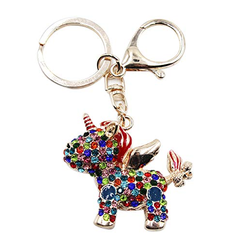 Aibearty Crystal Keychain Animal Keyring Car Bag Accessory Birthday Gifts from Aibearty