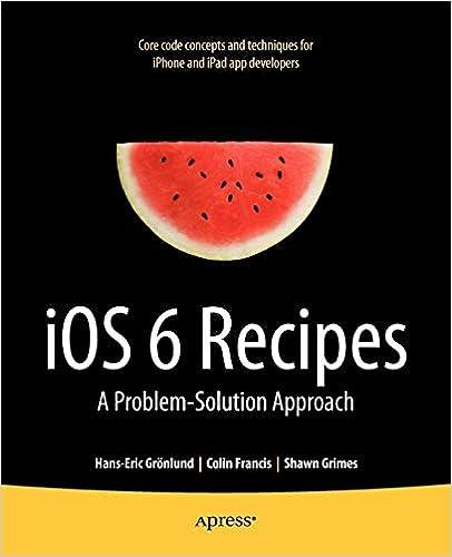 Amazon com: iOS 6 Recipes: A Problem-Solution Approach