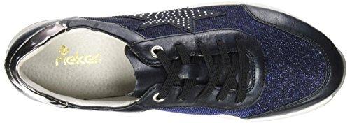 Rieker Bleu K2802 Fille Royal Baskets Navy Ozean Altsilber xTzrxg