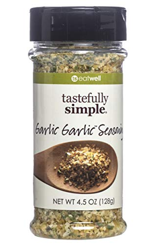 - Tastefully Simple Garlic Garlic Seasoning Blend, No MSG, All Natural, No Preservatives, and Kosher