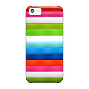 5c Scratch-proof Protection Case Cover For Iphone/ Hot Vivid Colors Phone Case