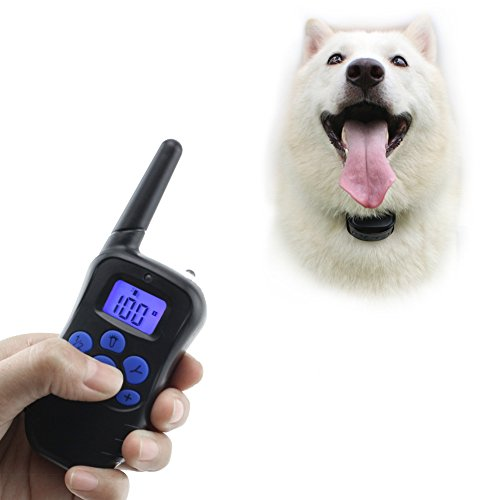 COFIT Remote Dog Training Collar, Rechargeable and Electronic collar with Beep, Static Shock and Vibration Function - US Version
