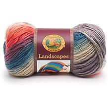 Lion Brand Yarn Company 545-217 Landscapes Yarn, Harvest Moon