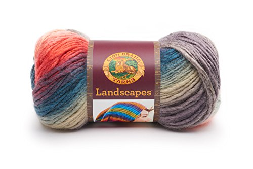Lion Brand Yarn Landscapes Yarn, One Size, Harvest Moon
